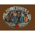 Enameled Line Dance Belt Buckle