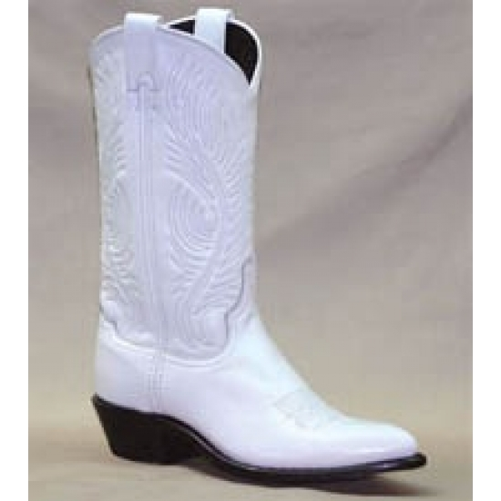 Ladies Abilene Womens White Boot 9054