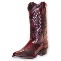 Abilene Mens Dress Western Boots With Laced Accents