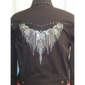 Ladies Rhinestone Western Jacket