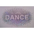 Oval Sequin Dance Splatter