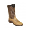 "Sage by Abilene Men's 11"" Cowhide Western Boots - Square Toe"