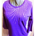 Big Bling Scoop Neck Shirt