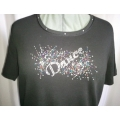 Dance Burst Ladies Rhinestone Shirt