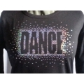 Sequin Dance Burst Shirt
