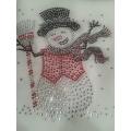 Rhinestone Snowman