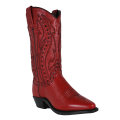 Abilene Ladies Western Boots, Brown, Red.